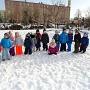 Zimowe zabawy w Krasnoludkach