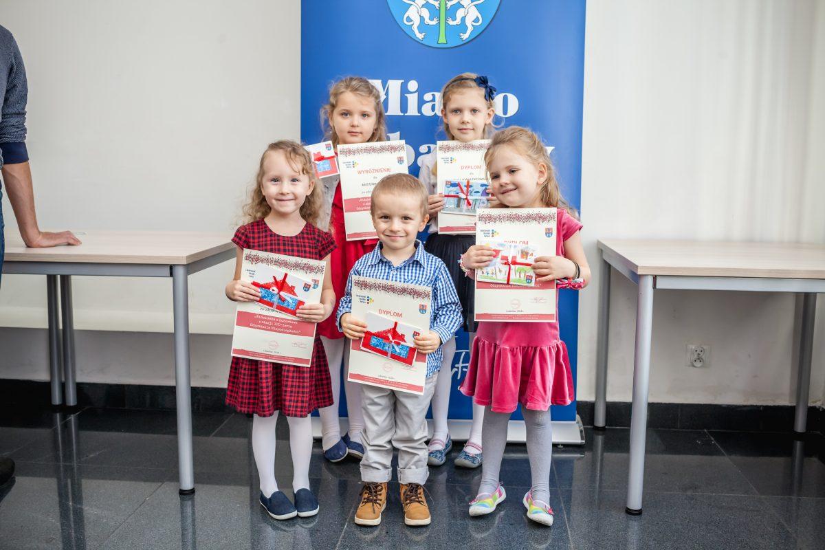 """Konkurs """"Widokówka z Lubartowa z okazji 100-lecia Odzyskania Niepodległości"""""""
