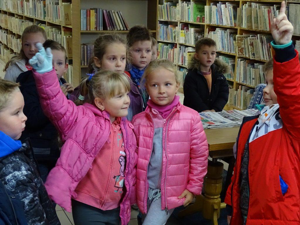 Liski odwiedziły Bibliotekę