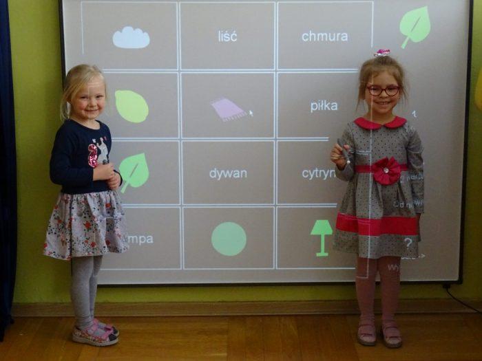 Zabawy z tablicą interaktywną